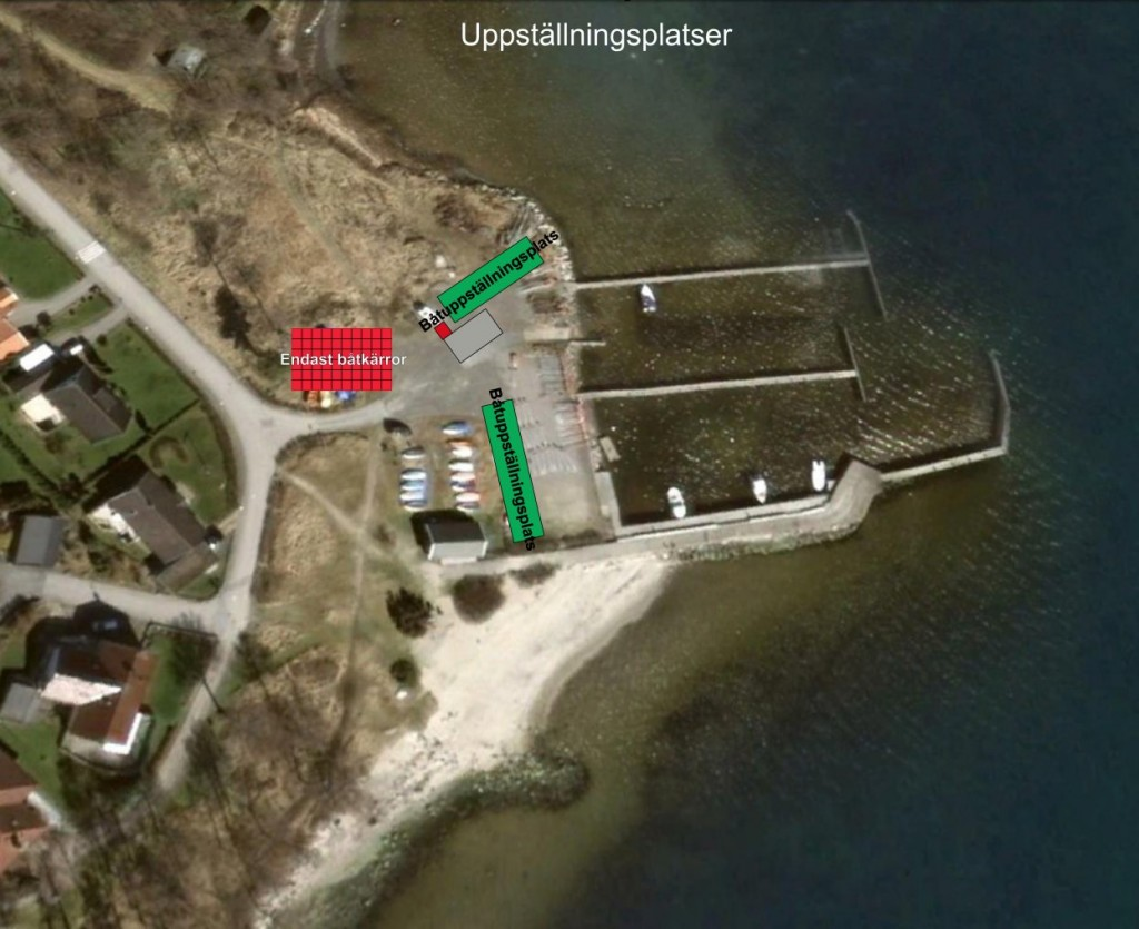 BåtuppställningsplatserWeb